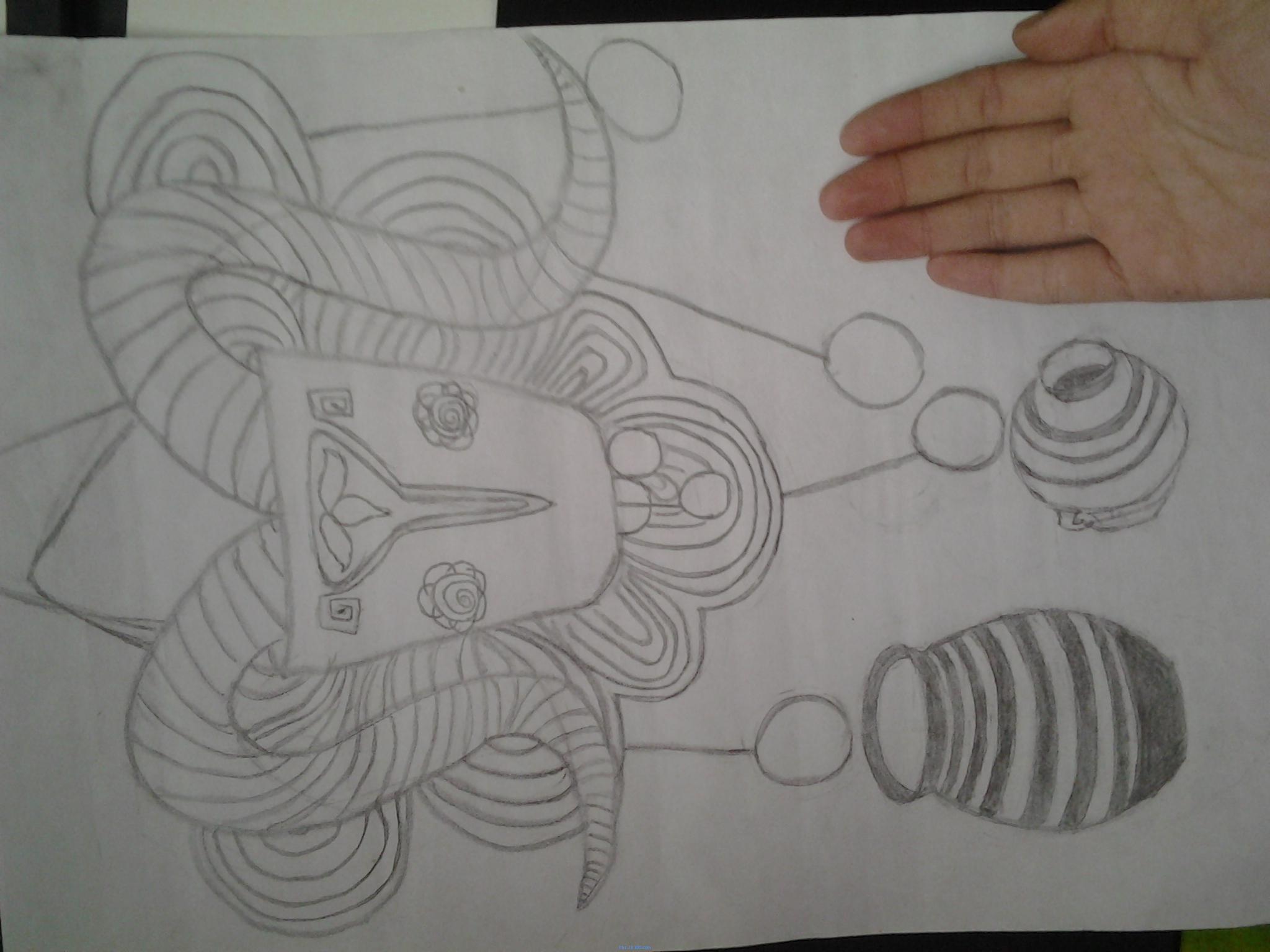 画饺子简单图片步骤